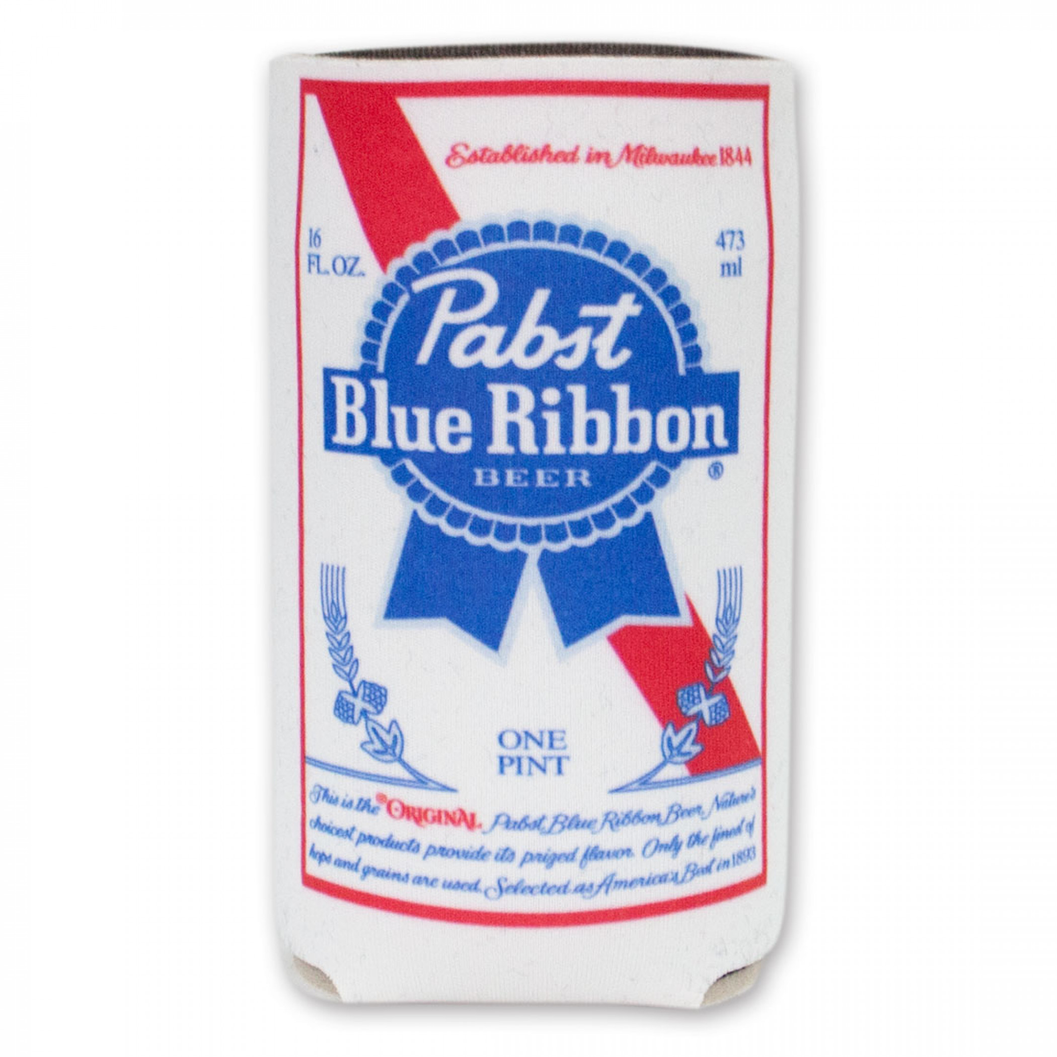 Pabst Blue Ribbon 16 Oz Beer Can Cooler